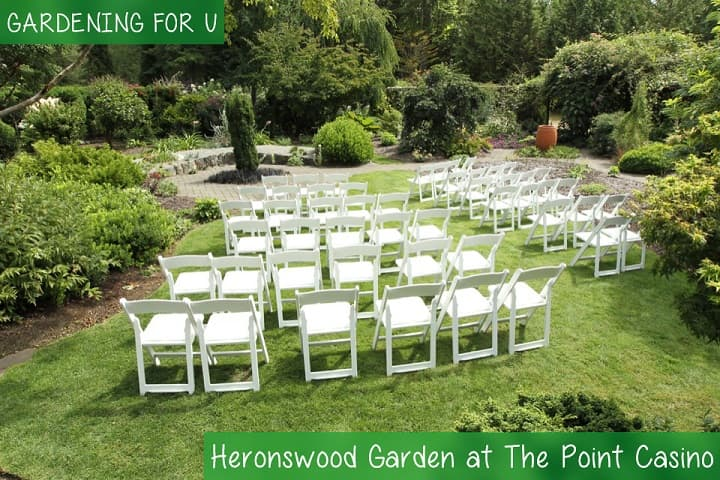 Heronswood Garden at The Point Casino