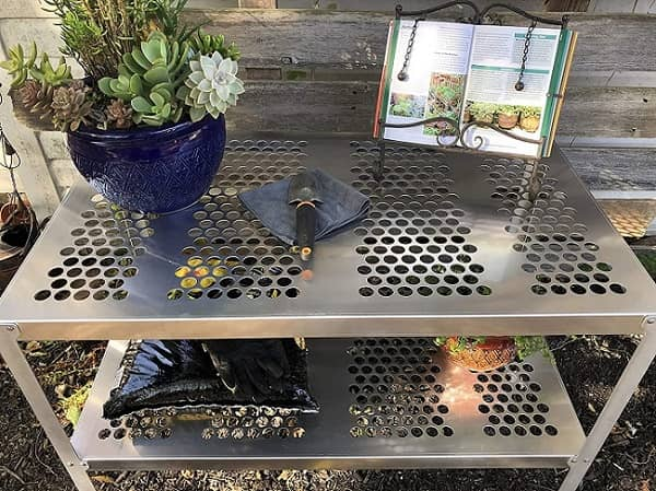 RMP Aluminum Greenhouse Potting Bench and Utility Table