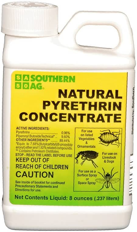 Southern Ag 10401 Natural Pyrethrin Concentrate, 8oz, Brown A