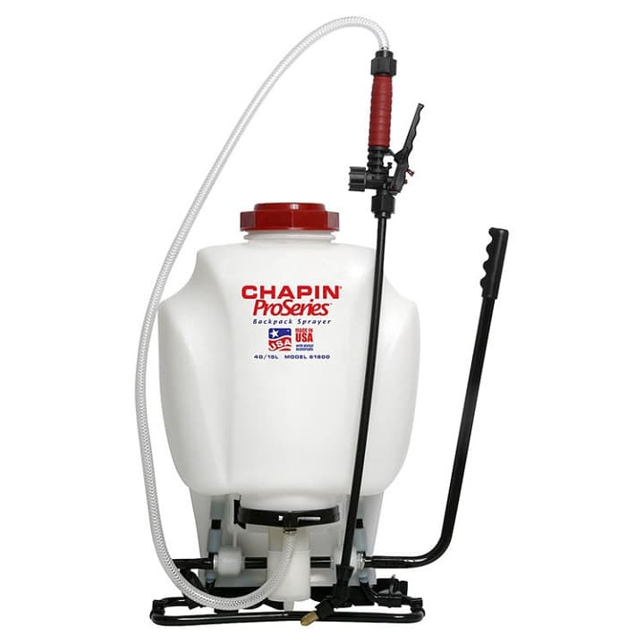 CHAPIN 61500 Backpack Sprayer for Fertilizer, 4 gal