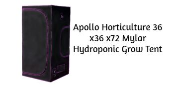 Apollo Horticulture 36 x36 x72 Mylar Hydroponic Grow Tent
